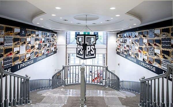 I Promise School LeBron James Shoe Display